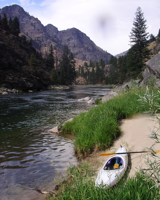 Sandbar, Impassable Canyon