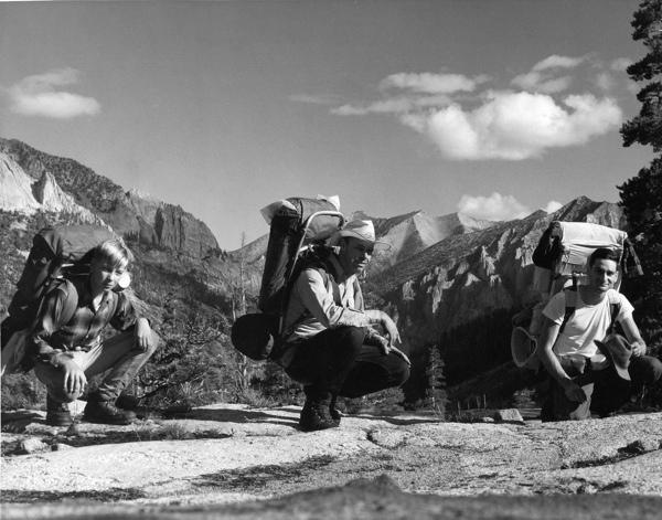 Ben, Ernie Haws, Allyn Saroyan  (Cedar Grove - Mineral King)