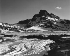 Banner Peak and Suncups, 1000 Island Lake
