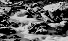 Snowy Cascades, Merced River