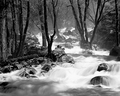 Torrent, Bridalveil Creek