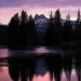 Sunset, Tuolumne River and Cathedral Peak