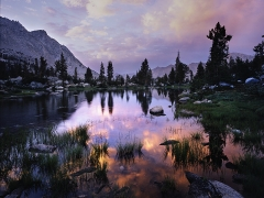 Sunset, 60 Lake Basin